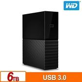 WD My Book 6TB 3.5吋外接硬碟(SESN)(與 Windows 和 Mac 相容)