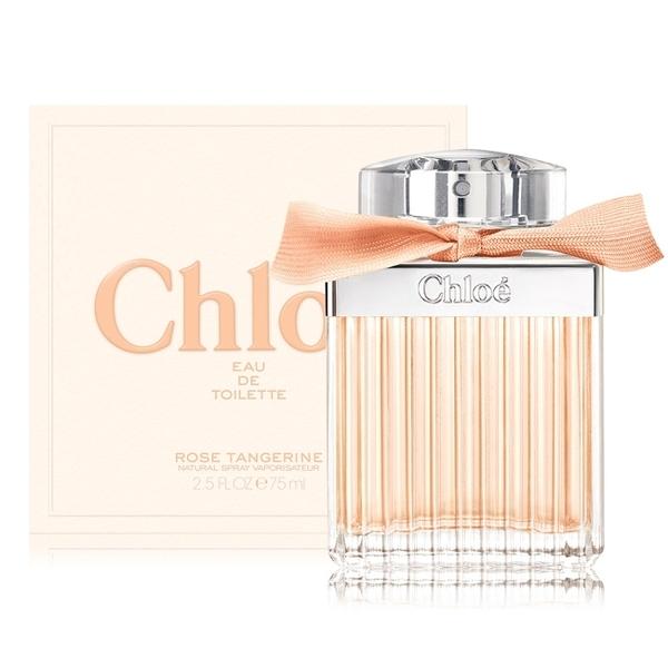 Chloe 沁漾玫瑰女性淡香水 Rose Tangerine(75ml) EDT-公司貨