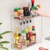 廚房收納架簡約多功能大容量調料佐料架置物架廚房省空間整理架 KB7410 【歐爸生活館】