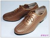 節奏皮件~國標舞鞋女練習鞋編號695 56 古銅