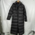 BRAND楓月 MONCLER 黑色 羽絨連帽 長板大衣 外套 #1 羽絨衣 羽絨外套 保暖