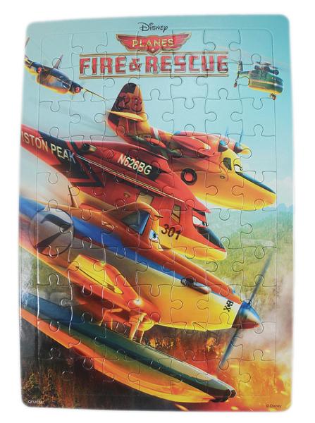 【卡漫城】 Planes 兒童 70片 拼圖 ㊣版 打火英雄 飛機總動員 Dusty 飛機 比賽 益智 遊戲