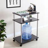簡易小茶幾創意陽台桌簡約現代茶車帶輪行動茶水架時尚茶具桌igo 享購