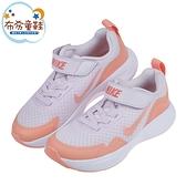《布布童鞋》NIKE_WEARALLDAY橘紫色大童成人運動慢跑鞋(17~22公分) [ P1G002F ]