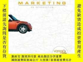 二手書博民逛書店Marketing:罕見An Introduction And