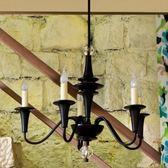 古德拉金屬5燈吊燈