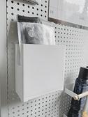 裝放口罩盒子收納盒玄關門后免打孔磁吸創意冰箱貼磁性【慢客生活】
