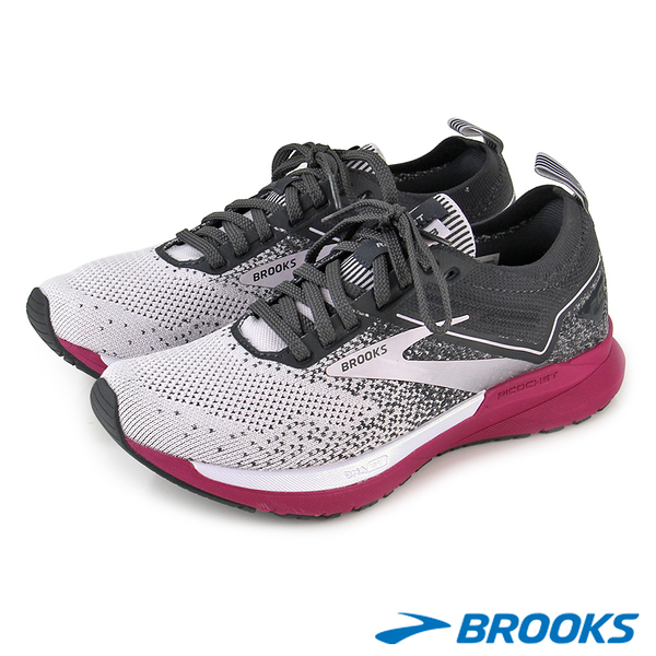 【BROOKS】女 動能加碼象限 RICOCHET 3彈飛系列三代女跑鞋 1203481B003 U36-20348