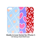 【東西商店】Uniea Madly in Love Series for iPhone 5/5s/SE 手繪彩殼保護殼