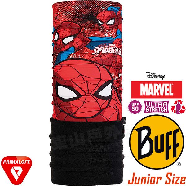 BUFF 121586_漫威授權-蜘蛛人 Junior Polar青少年單面保暖魔術頭巾 快乾圍巾/運動脖圍/防風防寒帽