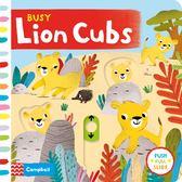 Busy Lion Cubs 忙碌的小獅子硬頁操作書