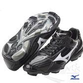 MIZUNO美津濃 棒壘球鞋(黑) 棒球壘球適用 FRANCHISE F EDITION-11GP144110