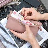 長夾女 歐美大牌簡約超薄長款錢包女頭層手拿包新款零錢包女 卡菲婭