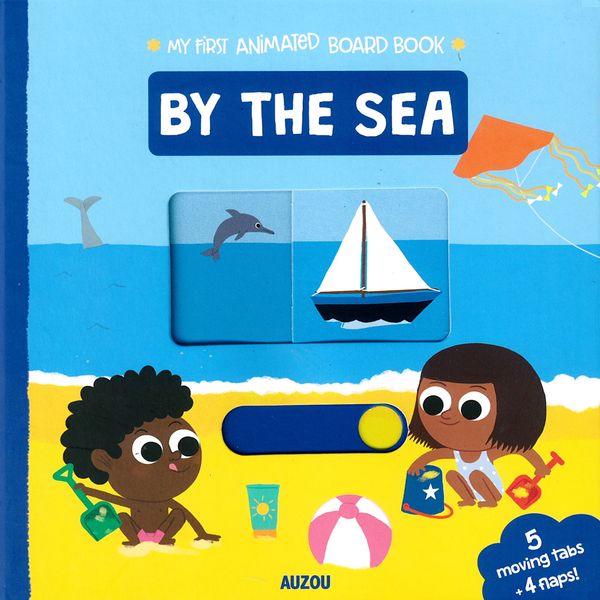 My First Animated Board Book:By The Sea 我的第一本推拉小書:海灘篇