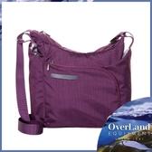 【OVERLAND 美國 Belvedere輕量多功能側背包《紫》】OL161NBD0174/斜背包/書包/肩背