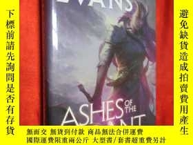 二手書博民逛書店Ashes罕見of the Tyrant (小16開,硬精裝)