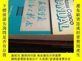 二手書博民逛書店ATLAS罕見COPCO MANUAL(壓縮空氣設備與技術,英文