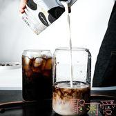 可樂杯創意玻璃水杯子咖啡杯易拉罐杯子奶茶杯雞尾酒杯【聚可愛】
