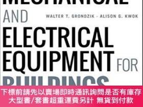 二手書博民逛書店Mechanical罕見And Electrical Equipment For BuildingsY2551