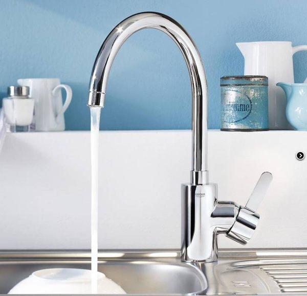 【麗室衛浴】德國GROHE 32661 可旋轉式出水廚房水龍頭