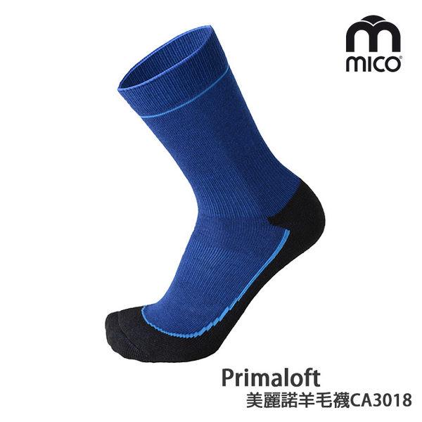 MICO Primaloft美麗諾羊毛襪CA3018 (S-XL) / 城市綠洲 (義大利、萊卡、襪子、彈性、保暖襪)