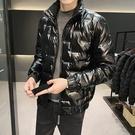 男羽絨服 男士羽絨服潮牌2020年秋冬季新款帥氣外套冬裝潮流輕薄短款上衣服
