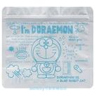 asdfkitty*哆啦A夢3層構造鋁箔夾鏈袋-5入-夾鍊袋/收納袋/藥品袋-耐冷防酸防潮-日本正版商品