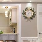 美式 田園創意藝術家庭時鐘客廳靜音鐘復古家用裝飾臥室大掛鐘錶-享家生活館 YTL