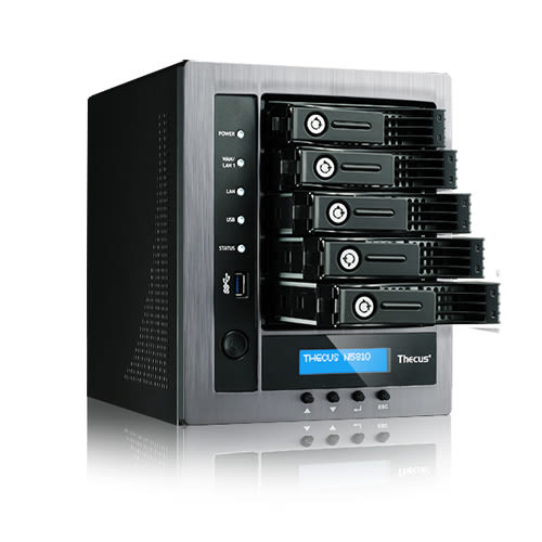 Thecus 色卡司 N5810 5Bay NAS 網路儲存設備