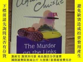 二手書博民逛書店The罕見murder on the links【 高爾夫球場的