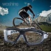華信護目鏡防風沙透明防灰塵摩托車騎行打磨防塵防護眼鏡擋風鏡【中秋節】