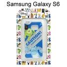 迪士尼透明軟殼 Samsung G9200 Galaxy S6 [最佳拍檔] 大眼仔&毛怪【Disney正版授權】