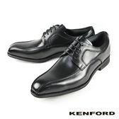 【KENFORD】裙飾質感德比鞋 黑色 (KN22-BL)