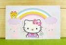 【震撼精品百貨】Hello Kitty 凱蒂貓~卡片-彩虹(M)