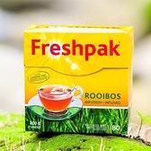 【南紡購物中心】~即期良品~【Freshpak】南非國寶茶 RooibosTea 茶包-新包裝/80入*12盒/箱