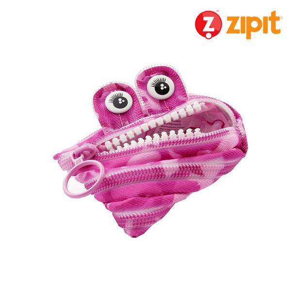 Zipit 怪獸拉鍊包迷彩系列(小)-迷彩粉