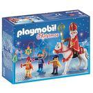 聖誕禮物 playmobil 聖誕系列 聖誕大遊行_PM05593