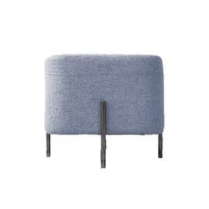 時尚棉麻方型椅凳-黃色