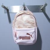 PUMA WMN CORE 迷你 小後背包 拼接皮革 07717002 粉花紋【iSport愛運動】