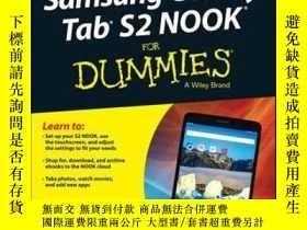 二手書博民逛書店Samsung罕見Galaxy Tab S2 NOOK For DummiesY410016 Corey Sa