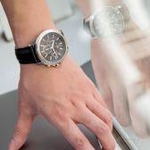 【人文行旅】A/X Armani Exchange   亞曼尼 AX2604 率性線條三眼腕錶