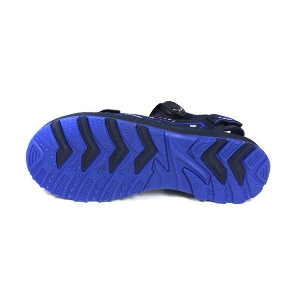 G.P (GOLD PIGEON) 阿亮代言 運動型 涼鞋 黑/藍 男鞋 G0793-20 no256