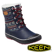 Keen Elsa Boot WP 女 休閒保暖靴深藍/彩色 1013728
