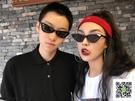 太陽鏡 封帆同款復古三角貓眼歐美街拍墨鏡FF眼鏡 一件免運