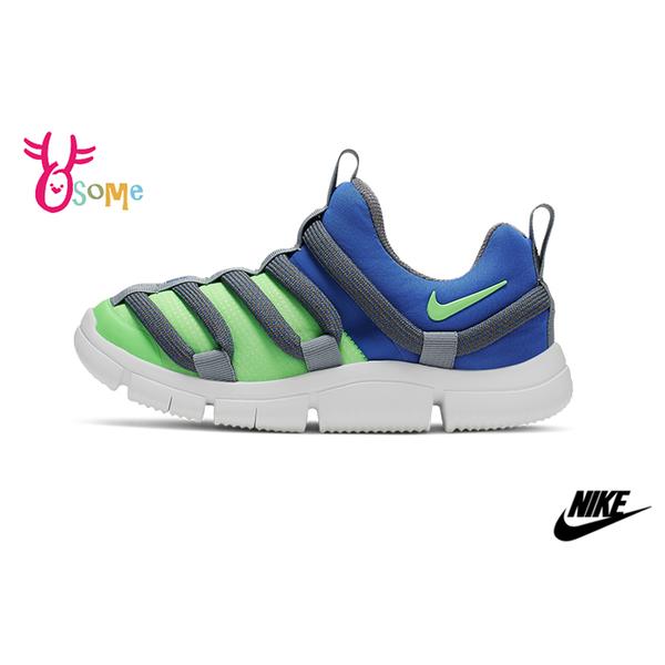 NIKE NOVICE (PS) 中童 2019最新毛毛蟲鞋 運動鞋 慢跑鞋 P7161#藍色◆OSOME奧森鞋業