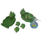 貝安ST軟質玩具/青蛙/1大3小【六甲媽咪】