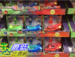 [COSCO代購] C1137798 PJ MASKS VEHICLES FIGURINES 3PK 卡通人物小汽車3人組