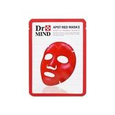 韓國 Dr.Mind 舒緩淨膚亮彩紅面膜(單片25g) 【小三美日】神木水同款