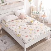 單件全棉床笠床包純棉床罩120×200兒童床床罩樂淘淘