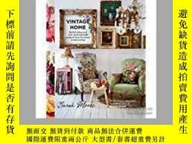 二手書博民逛書店Vintage罕見Home: Stylish ideas and
